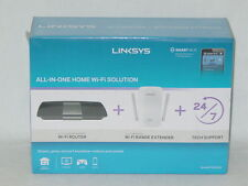 Linksys F5Z0636 All-in-One WiFi Solution w/ AC1750 Router & AC1200 Extender NEW!