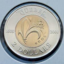 CANADA - 2 DOLLARS (1608) 2008 QUEBEC 400 TH COMMEMORATIVE - MS
