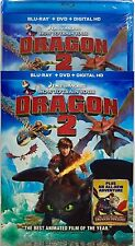 How to Train Your Dragon 2 - Blu-Ray+DVD+Digital HD+EXTRA+Ships Fast!+Brand New!