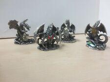 WAPW Pewter Dragon Figurines Job Lot Dragon Prisoner Crystal Secrets C20