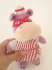 "Disney Jr Doc McStuffins Hallie Hippo Bean Bag Plush Doll Figure Stuffed Toy 8"""