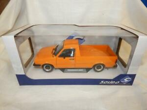SOLIDO VOLKSWAGEN CADDY MK1 1982 CUSTOM ORANGE  S1803502 BNIB 1:18