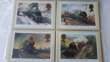 royal mail stamp postcards steam railway trains