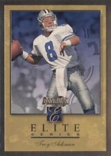 1996 Donruss Elite Gold insert card Troy Aikman #1566/2000   *COWBOYS*