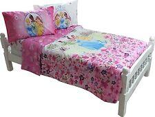 Disney Princess Comforter full size Tiana and Frog Cinderella New