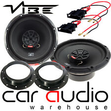 VW T5.1 Caravelle Vibe SLICK 6 480 Watts 2 Way Front Door Car Speakers Kit