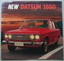 DATSUN 1600 LF Car Sales Brochure c1967 #PE 671-804121