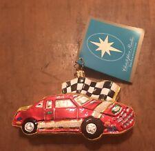 christopher radko race car christmas ornaments