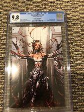 Uncanny X-Men 22 Anacleto virgin variant CGC 9.8 2019 Carnage -ized Emma Frost
