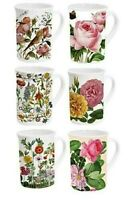 Porzellan*Tasse*Henkelbecher*Mug*historische Blumenmotive*in Geschenkverpackung*