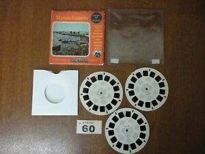 MASSACHUSETTS State U.S.A. Vacationland Series - Viewmaster Reels