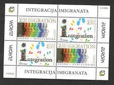 BOSNIA-CROATIA -MNH** BLOCK-EUROPA CEPT-2006.
