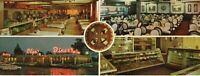 Oversized Postcard Olga's Diner Marlton NJ New Jersey w/50s 60s Cars Automobiles