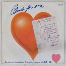 Coup de Coeur 45 tours Claude for ever 1982