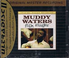 Waters, Muddy Folk Singer MFSL Gold CD Neu OVP Sealed