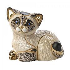 Rinconada Siamese Cat-Kitten Resting Boxed - approx 6.5cm High