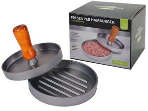 Stampo per hamburger pressa per fare hamburger in alluminio antiaderente Ø12 CM