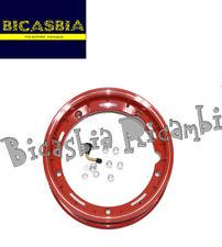 10564 - CERCHIO RUOTA ROSSO TUBELESS  SPORT 2,50 X 10 VESPA 50 125 PK S XL N V