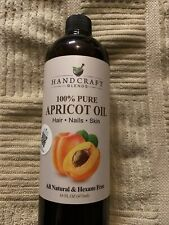 Handcraft Pure Apricot Kernel Oil - 100% Pure And Natural - Premium Quality C.
