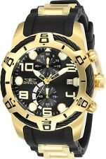 Invicta Mens 50mm Bolt Sport Edition Black Dial Chronograph Silicone Watch 24218