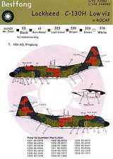 Bestfong Decals 1/72 LOCKHEED C-130H HERCULES Lo Viz Chinese Air Force