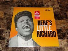 Here's Little Richard Limited Edition 500 Pressed Orange Vinyl Newbury Exclusive