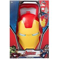 Marvel Avengers Iron Man Shaped Superhero Novelty Case Kids Boys Toy Kit Gift