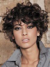 Short Curly 100% Human Hair Wigs
