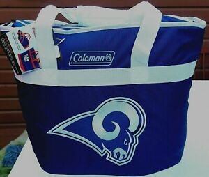 LOS ANGELES RAMS X-LARGE SIZE COOLER BAG TOTE INSULATED FOR HOT/COLD COLEMAN