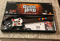 Playstation 2 (PS2) - Guitar Hero Game And Guitar Controller Bundle Wired Gibson