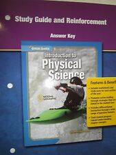 Introduction to Physical Science Study Gde & Reinforcement Answer Key 0078673399