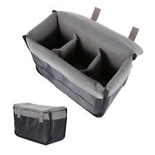 Soft Padded Insert Partition Storage Bag Pouch Case DY For DSLR SLR Camera Lens