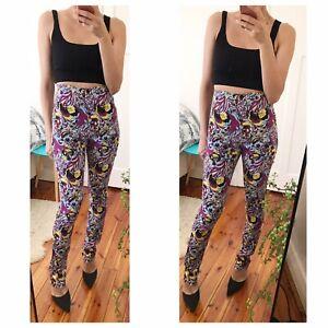 Jersey Psychedelic Pants By Australian Fashion  Brand Scanlan Theodore Sz S