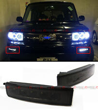 FOR 2003-07 SCION XB 1ST GEN SMOKED LED DAY TIME RUNNING BUMPER FOG LIGHT LAMPS