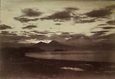 Pluschow,Guglielmo, Bay of Naples. Vintage Albumen photo, c. 1900