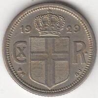 1929 Iceland 10 Aurar | Pennies2Pounds