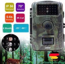 HD 720P 5MP PIR Fotofalle Jagdkamera Wildkamera Überwachungskamera Nachtsich DP