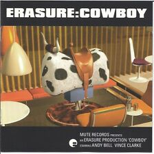 Erasure Cowboy (1997) CD