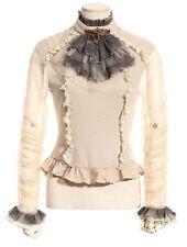 Hüftlang Damenblusen,-Tops & -Shirts mit Baumwollmischung für Party ohne Mehrstückpackung