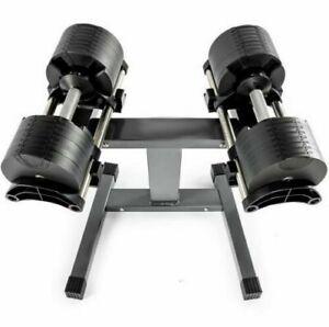 Verstellbare Hanteln Kurzhanteln set 32kg (64kg) (kein Bowflex) mit Ständer.