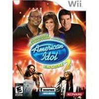 Nintendo Wii Karaoke Revolution American Idol Encore 2 Konami Tested Rare Sing
