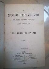 IL NUOVO TESTAMENTO DEL NOSTRO SIGNORE E SALVATORE GESU' CRISTO LIBRO DEI SALMI
