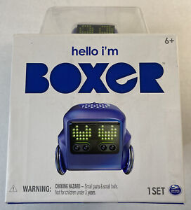 Hello I'm Boxer Tiny Bot Robot App-Controlled RC Remote Control.