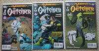 Flashpoint: The Outsider #1-3 full set. DC comics