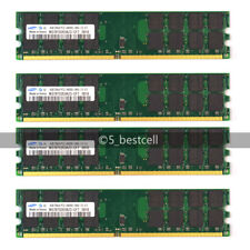 Samsung 16GB 4X4GB DDR2-800MHz PC2-6400 240PIN PC6400 for AMD CPU Motherboard
