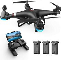 Holy Stone HS110G FPV GPS Drone with 1080P HD Wifi Camera Quadcopter 3 Batteries