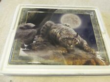 Lords Of The Night Edge of Night Kevin Daniel Bradford Exchange Collection Plate
