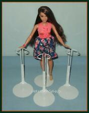 "3 Kaiser Doll Stands for NEW Curvy Body Barbie FASHIONISTAS 12"" SHIRLEY TEMPLE"