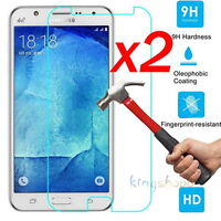 2x 9H Tempered Glass Film Screen Protector Guard for Samsung GALAXY J1 3 5 S5 S7