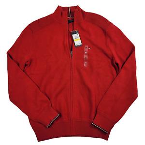 Tommy Hilfiger   Men's Richardson Regular Classic Fit Full-Zip Cardigan   Medium
